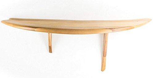 Mesa de consola Fish Surfboard - Consola de madera sólido - Made in Italy
