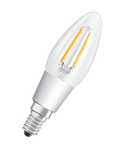 Osram Parathom CLassic B Advanced glowdim 4,5W E14A + + Warm Weiß LED-Birne–LED Leuchtmittel (Warm Weiß, Weiß, A + +, 50/60, 220–240, 5kWh)