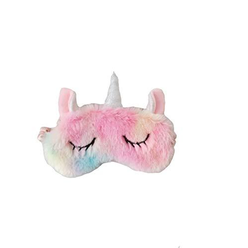 Dressfan Unicornio Máscara Dormir Máscara Ojos Linda