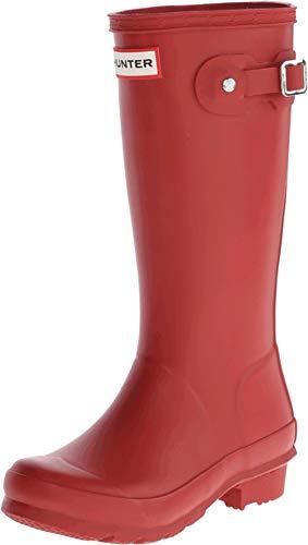 Hunter Original Kids W23500 - Botas para niños, Color Rojo, Talla 24