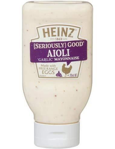 Heinz Aioli Maionese Squeeze 295ml