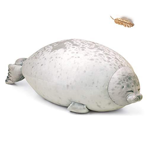 Creamon Cojín de animales marinos, cojín de animales marinos Blob Seal, cojín dulce de peluche de algodón 002#