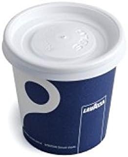 Lavazza - 4oz Espresso Cups & Matching Lids (50 Cups & 50 Lids)