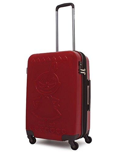 [ムーミン] ミイ スーツケース ネームタグ付き 50L/60L 56cm 3.9kg MM2-004 LITTLEMY-RED/EMBOSS