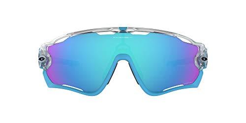 Oakley  da Sole Jawbreaker - Matte Clear w/ Prizm Sapphine Iridium