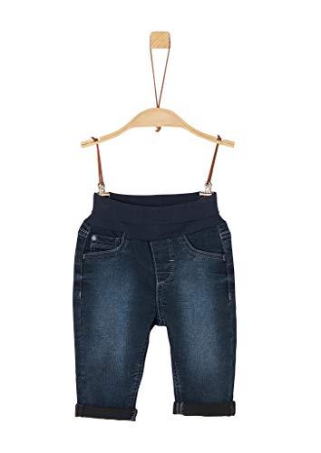 s.Oliver Unisex - Baby Jeans mit Umschlagbund dark blue 86.REG