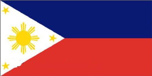 Flaggenking Philippinen Flagge/Fahne, mehrfarbig, 150 x 90 x 1 cm, 17007