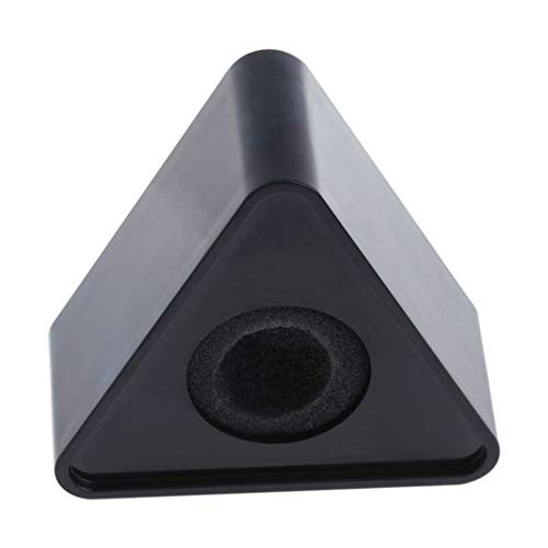 Aysekone Portable Black ABS Injection Molding Triangular Cube Shaped...