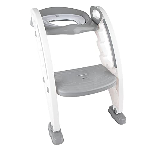 Bieco Toilettentrainer Trend   Faltbarer Toilettensitz Kinder   Kinder Toilettensitz mit Treppe   Töpfchen Baby   WC Sitz Kinder   Potty Training Seat   Klositz für Kinder   Toilettenaufsatz Kinder