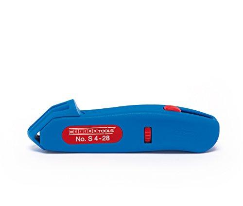 WEICON Kabelmesser No. S 4-28, Entmantler für Rundkabel inkl. Hakenklinge