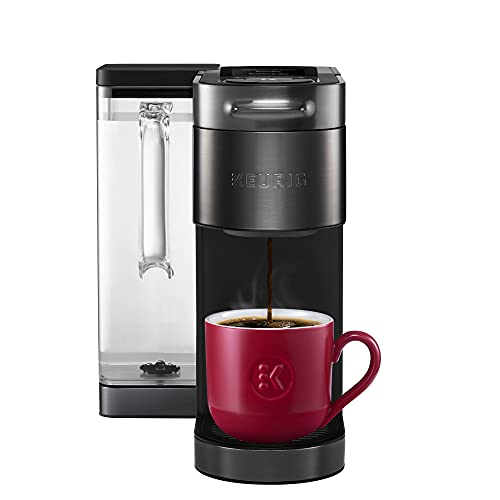 Keurig K-Supreme Plus SMART Coffee Maker, Single Serve K-Cup Pod Coffee Brewer, BREWID and MultiStream Technology, 78 Oz Removable Reservoir, Brews 4 to 12oz cups, Black Stainless Steel