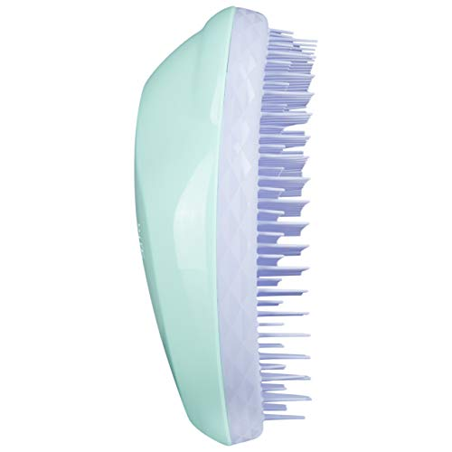 Tangle Teezer - Cepillo Antitirones - Fine and Fragile - Color Menta y Lila - 8 x 5 x 12 cm - Desenreda el Pelo Sin Tirones - Cuida la Cutícula del Cabello - Peine Tangle Teezer Original