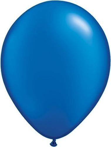 bienvenido a comprar Pearlised Solid Colour 11 11 11 Latex Pearl Sapphire azul 11 Qualatex Latex Balloons x 25  alta calidad y envío rápido