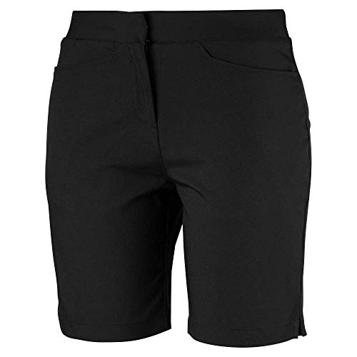 Puma Golf Women's 2019 Pounce Bermuda Short, Puma Black, Large