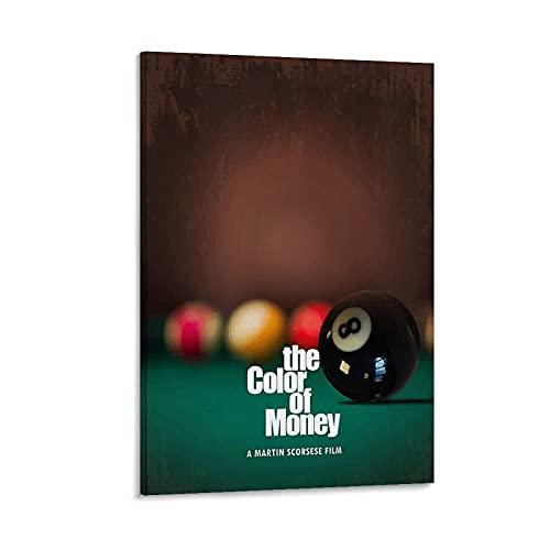 YRTY El color del dinero clásico películas carteles 20x30 pulgadas (50x75cm)