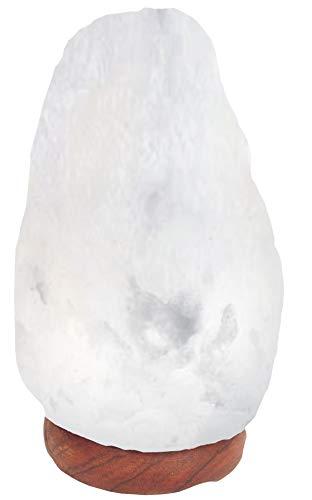 LED Energy Saving Bulb + Very Rare Natural White Himalayan Salt Crystal...