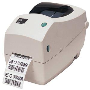Zebra 282p-101121–040TT imprimante, TLP2824Plus, 203dpi, Euro et UK cordons, EPL, ZPL, série, USB, distributeur (Éplucheur), 68Mo Flash, horloge en temps réel
