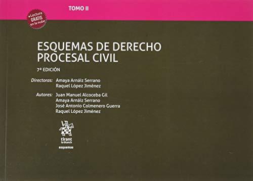 Tomo II Esquemas de Derecho Procesal Civil 7ª Edición 2020