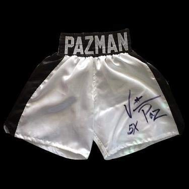 Vinny Pazienza Autographed Trunks - Autographed Boxing Robes and Trunks