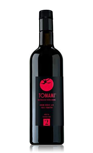 TOMAMI #2 (Tomate) - 740 ml | Würze | KRÄFTIG-SÄUREBETONT | umami, vegan, glutenfrei, laktosefrei, sojafrei