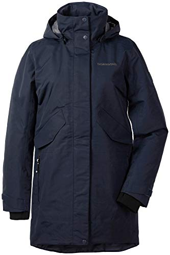 Didriksons Tanja Parka 3 Women - Regendichter Wintermantel, Dark Night Blue, 48