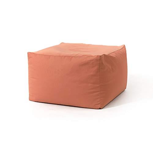 Chaises Longues canapé Chaise Longue canapé de Loisirs Bean Bag Dossier Balcon Chambre à Coucher Loisirs Portatif 5 Couleurs 65 * 65 * 43cm (Couleur : A)