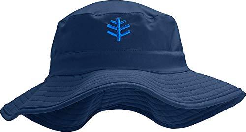 Coolibar Kinder UV-Bucket Hut, Marineblau, S-M/4-8 Jahre