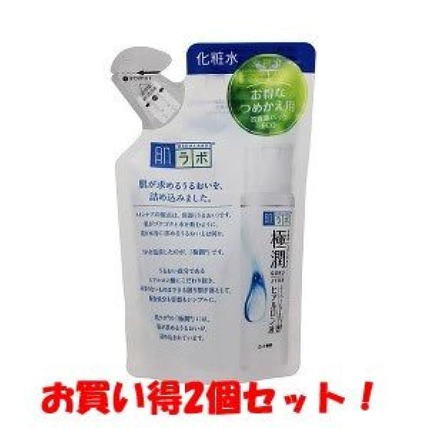 紀元前不確実幻想的(ロート製薬)肌ラボ 極潤ヒアルロン液 つめかえ用 170ml/新商品/(お買い得2個セット)