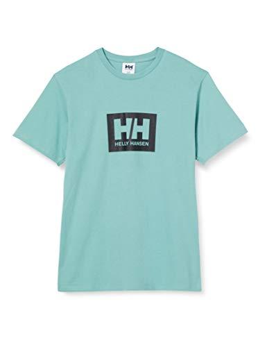 Helly Hansen Tokyo - Camiseta de Manga Corta, Unisex Adulto, Manga Corta, 53285, Verde, Extra-Small