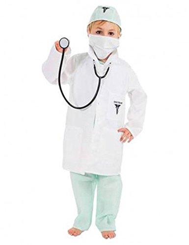 Chaks C4104128, Déguisement Docteur 128cm, 7-9 ans