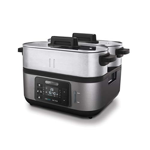 Morphy Richards 470006EE Cuisine Vapeur Professionnel en Acier Inoxydable 1600 6.8 L