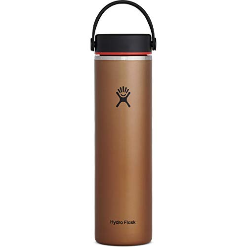 Hydroflask Unisex - Adult Flex Cup Drinking Bottle, Clay, 710 ml