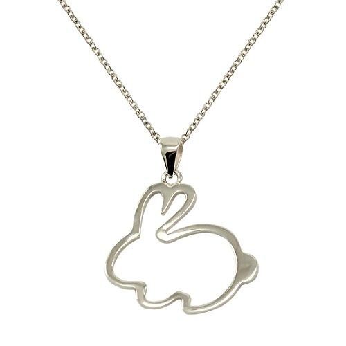 TIKIVILLE - Collar de plata de ley 925...