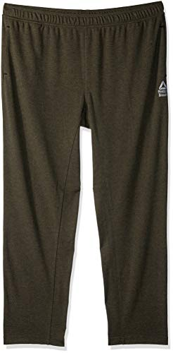 Reebok Men' CROSSFIT Speedwick Sweat Pant, Army Green, X-Large