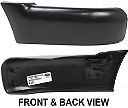 CHEVY/GMC S10 PICKUP 94-97 FRONT BUMPER END RH, w/o Side Molding Holes