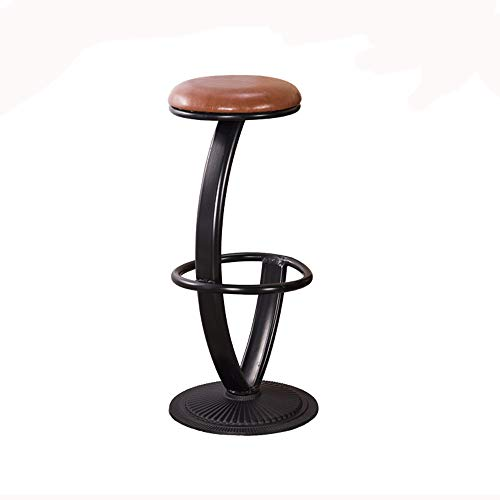 YAN JUN Tabouret De Bar Simple Personnalité Tabouret De Bar Tabouret De Bar Tabouret De Bar Table De Bar Home En Fer Forgé
