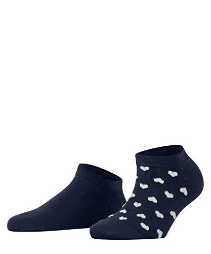 Esprit Damen Valentine Hearts 2-Pack W SN Hausschuh-Socken, Blau (Marine 6120), 35-38 (2er Pack)