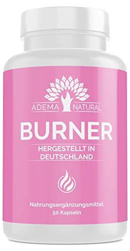 Adema Natural BURNER - Abnehmen natürlich, Garcinia Cambogia Extrakt HOCHDOSIERT , 50 Kapseln