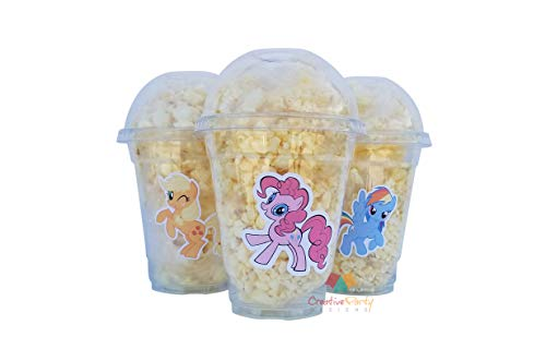 Set of 24 - My Little Pony Cups, My Little Pony Birthday, My Little Pony Party, My Little Pony Decorations, My Little Pony Goody Bags