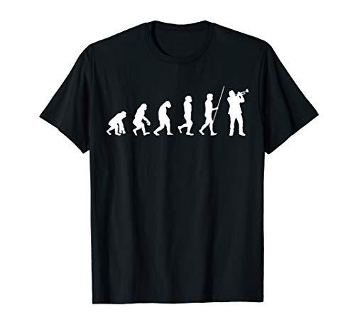 Evolution Trompete | Trompeter cooles Geschenk T-Shirt
