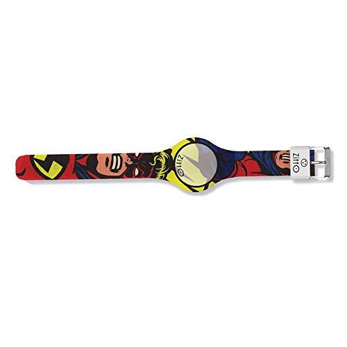 Orologio digitale unisex ZITTO COMICS in silicone multicolore SUPERHERO-MD-MAX