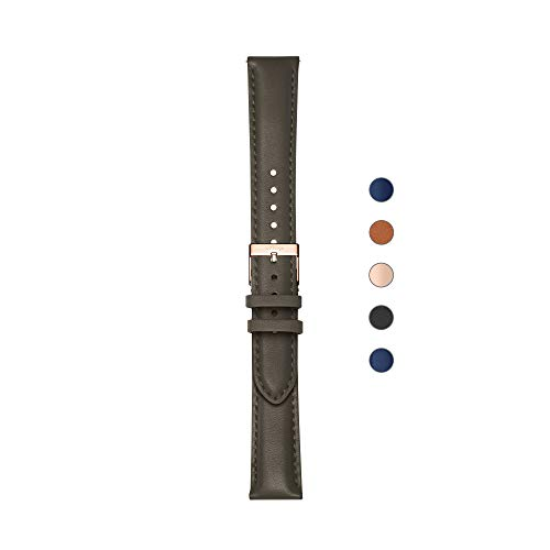 Withings - Lederarmbänder für ScanWatch, Steel HR, Steel HR Sport, Move ECG und Movet Cuir pour ScanWatch, Steel HR, Move ECG et Move