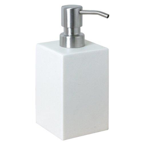 Enzo Rodi 82541 vloeibare zeepdispenser 250 ml voor het plaatsen van polyhars wit