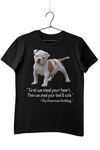 shirt for american bulldog - 1