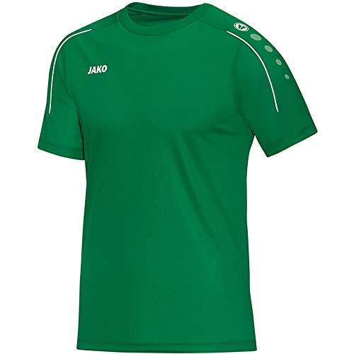 JAKO Classico T-Shirt Homme, Vert Sport, 4XL
