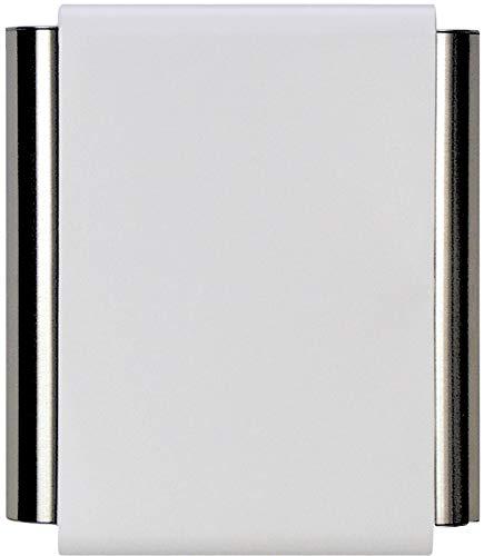 "Craftmade CTPW-W Designer Pewter Tubes Door Chime, White (8.38""H x 7""W)"