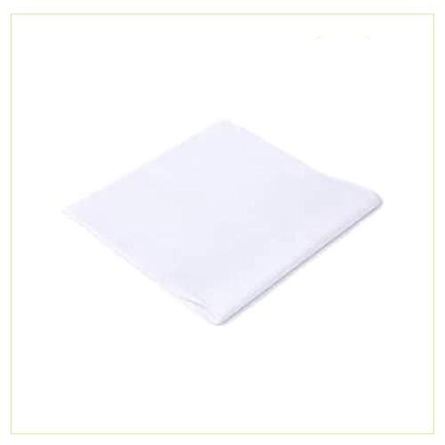 Palucart tovaglie in TNT 100x100 Confezione da 25 tovaglie Colore Bianco Tessuto Non Tessuto Ideali per la ristorazione