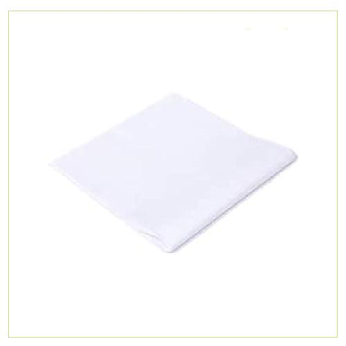 Palucart tovaglie in TNT 100x100 Confezione da 100 tovaglie Colore Bianco Tessuto Non Tessuto Ideali per la ristorazione