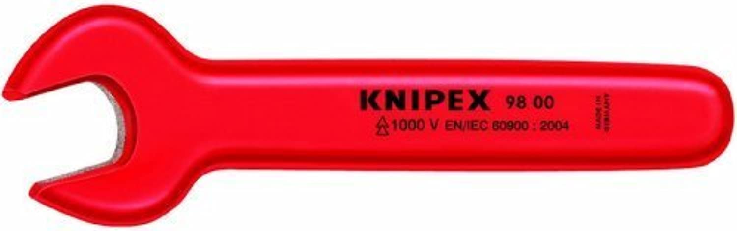 KNIPEX 98 00 5 5 5 8 1,000V Insulated 5 8 Open End Wrench by Knipex Tools LP B0186JR8F6 | Schön geformt  8b00f7