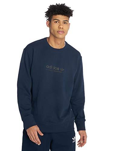Adidas Herren Kaval Crew Sweatshirt Blau, M